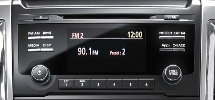 TITAN XD® Diesel SV King Cab® AM/FM/CD 5.0\